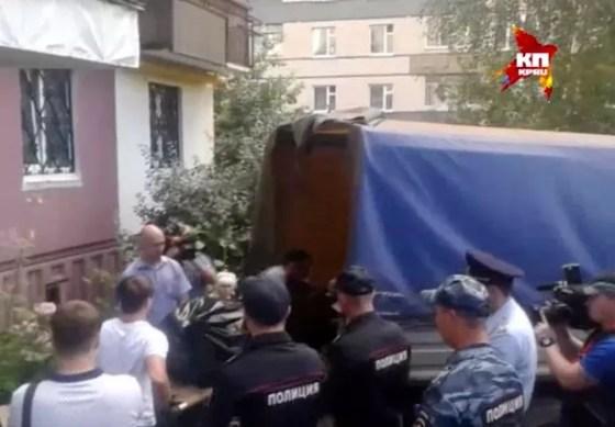 Children murdered in Nizhny Novgorod