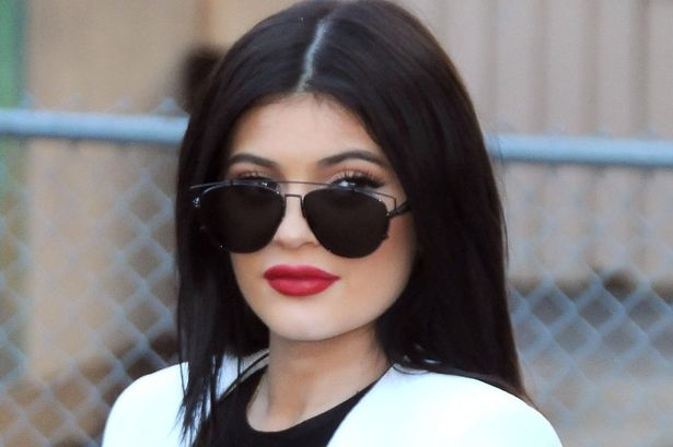 Kylie has already had her Ferrari revamped - that didn't take long