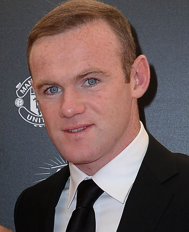 Wayne Rooney at the Manchester United Player Of The Year Awards 2015