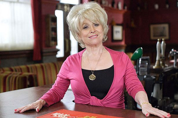 Barbara Windsor as Peggy Mitchell in EastEnders