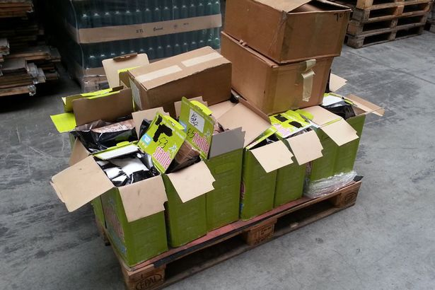 125 kilos of cocaine seized on their way to Liverpool