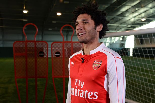 New Arsenal signing Mohamed Elneny