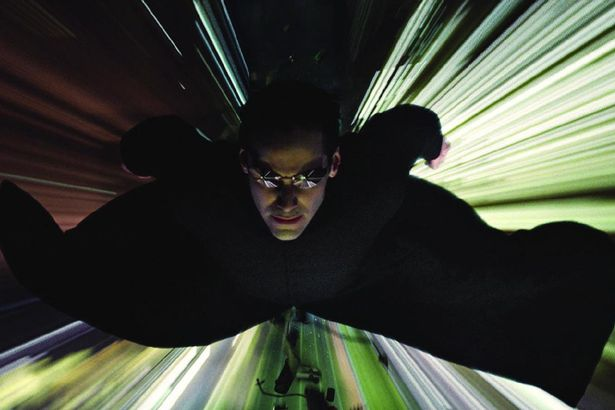 Keanu Reeves The Matrix Reloaded