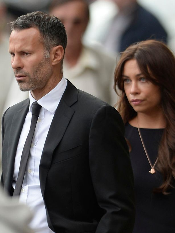 Ryan-Giggs-and-his-wife-Stacey-Cooke Ryan Giggs and wife split over infidelity allegation