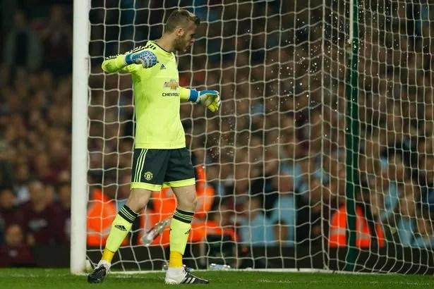 David-de-Gea Photos: Man Utd keeper, De Gea  hit by bottle during West Ham United match