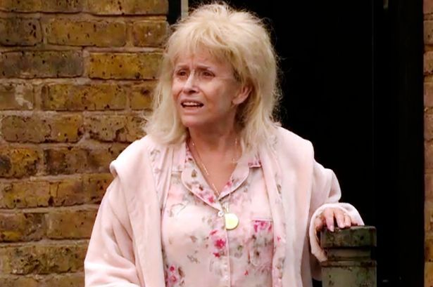 Barbara Windsor plays her final scenes as Peggy Mitchell.