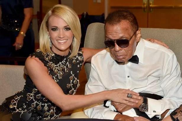 Muhammad Ali Celebrity Fight Night Award honoree Carrie Underwood