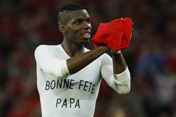 Image result for Man Utd ace Pogba blasts back at French critics