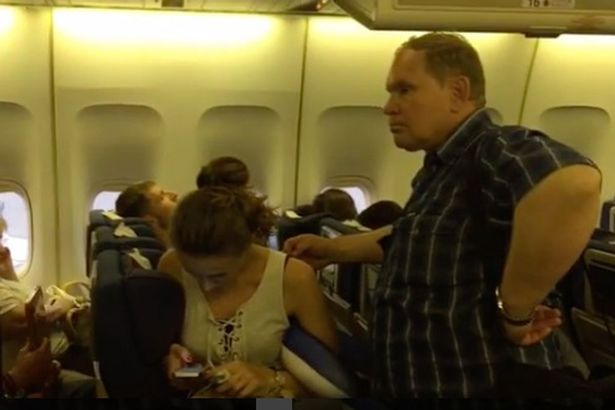 Wife causes SEVEN HOUR delay to Russian flight after deciding she wants a divorce.