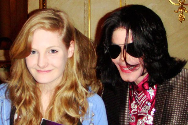 Harriet with Michael Jackson