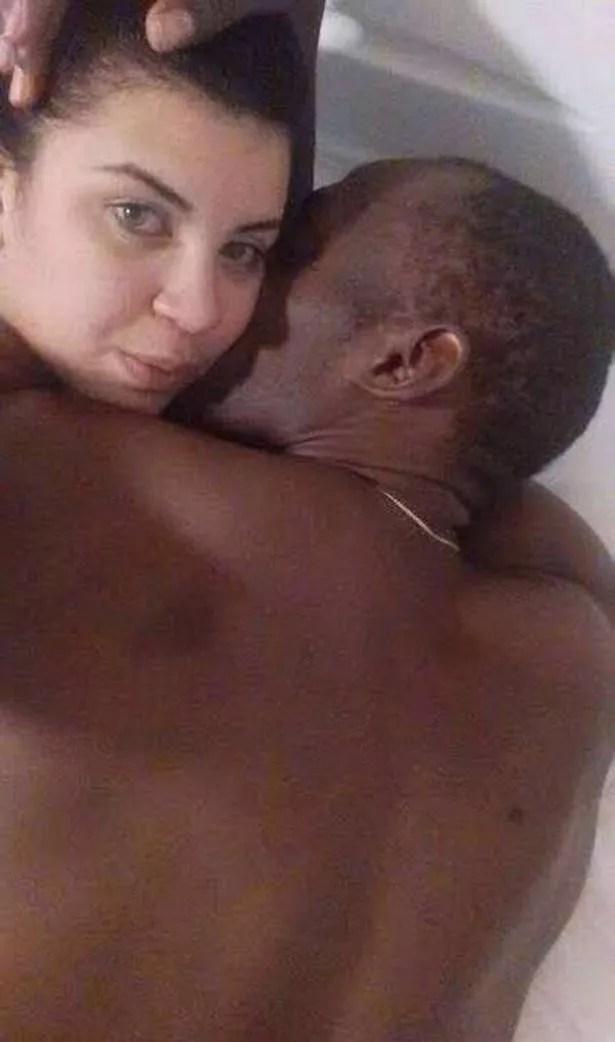 Jady Duarte and Usain Bolt