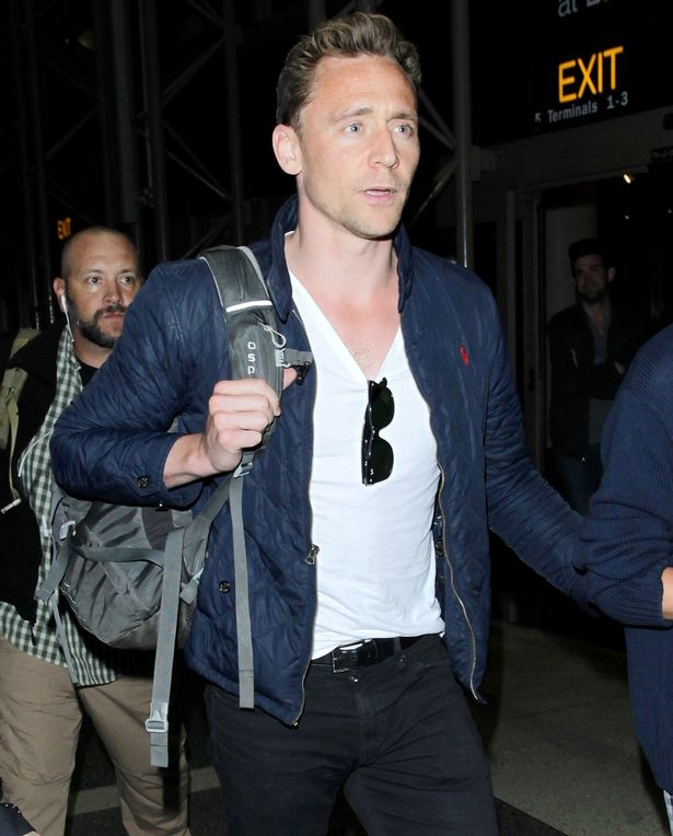 Tom Hiddleston and Taylor Swift arrive at LAX Airport