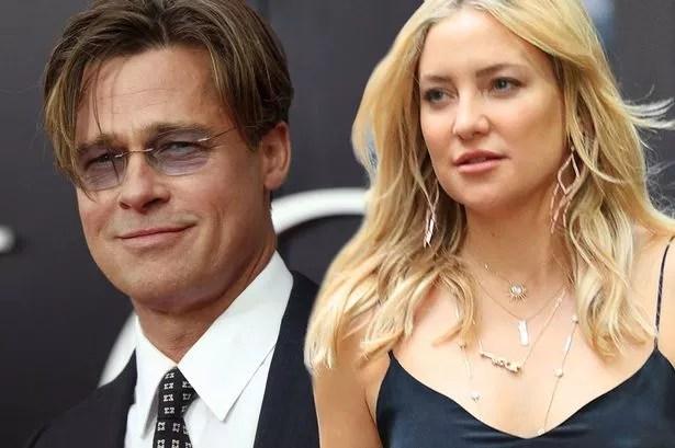 Bildergebnis für Brad Pitt and Kate Hudson