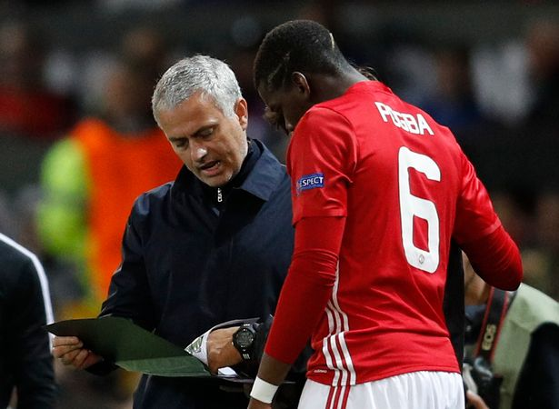 Image result for Paul Pogba tell Mourinho: This is the position I prefer to play in