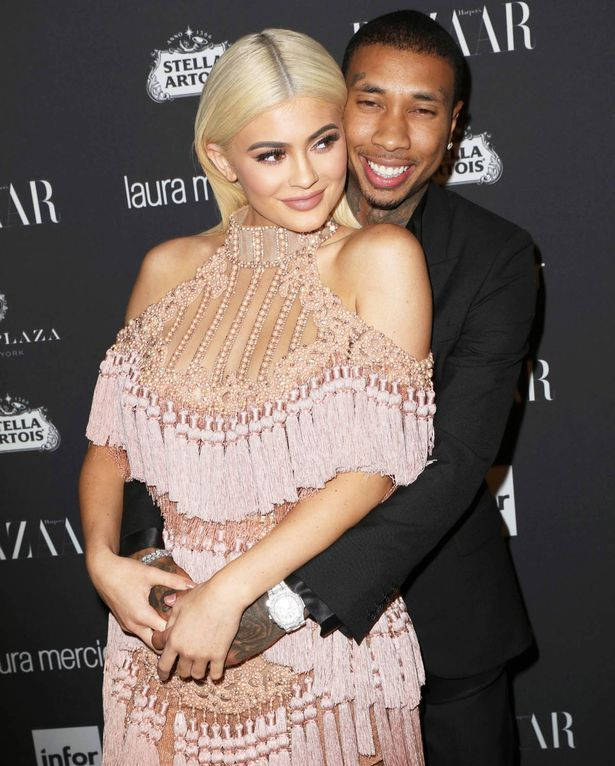 "Kylie Jenner and Tyga at the Harper's Bazaar Celebrates ""ICONS By Carine Roitfeld"" in New York"