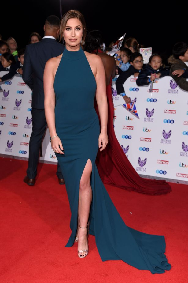 Ferne McCann at Pride of Britain Awards