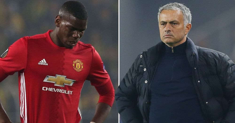 Image result for Mourinho and Pogba