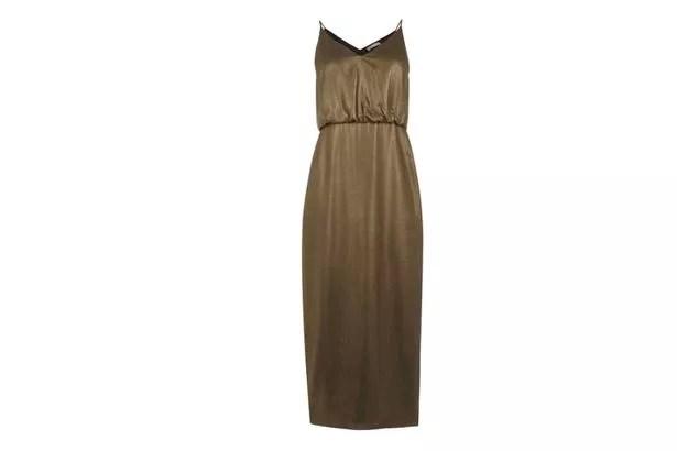 Oasis Metallic Dress