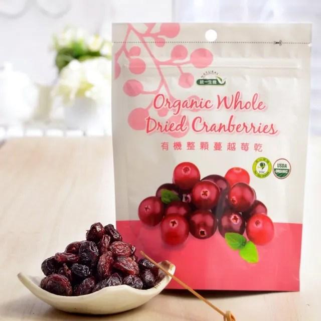 【統一生機】有機蔓越莓乾150g