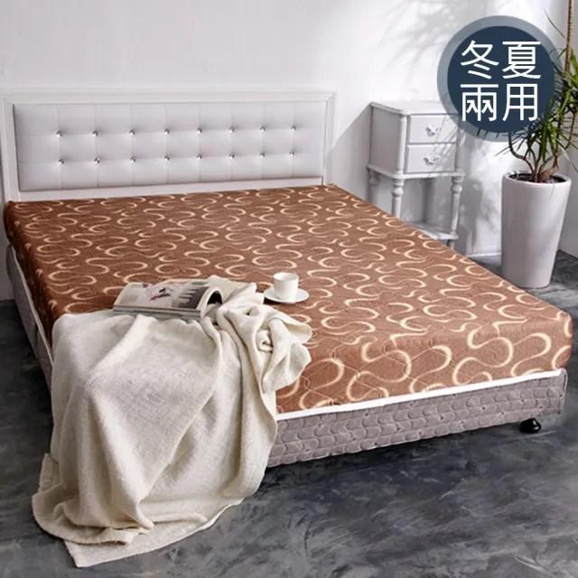 【品生活】日式護背式冬夏兩用彈簧床墊(雙人)