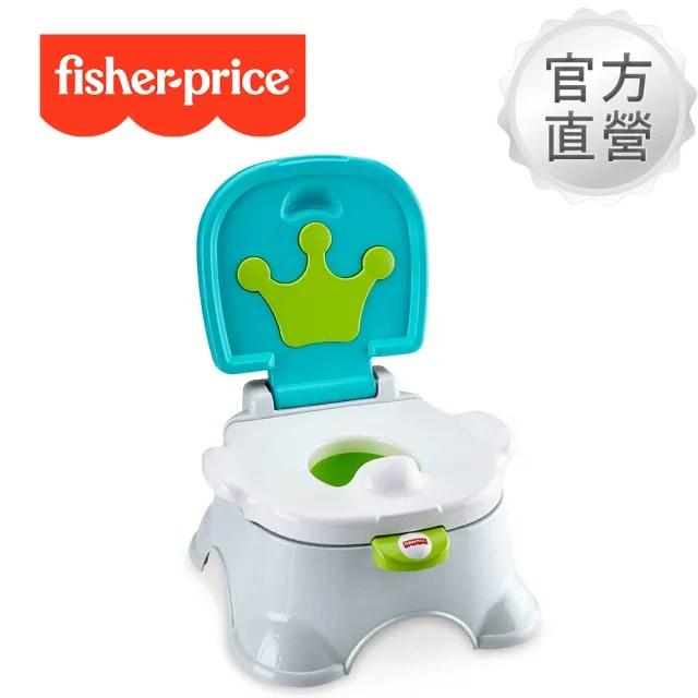 【Fisher price 費雪】國王學習便器椅凳-灰色