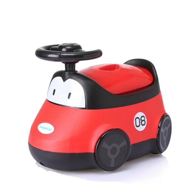 【babyhood】小汽車座便器(紅色)