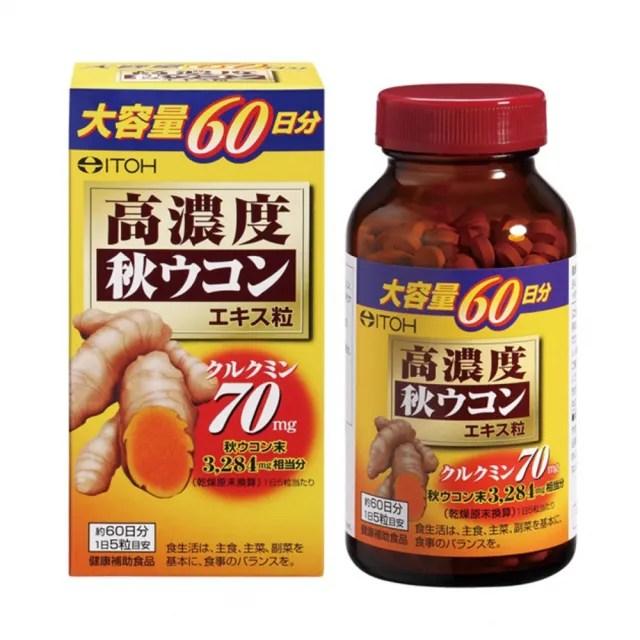 【ITOH 井藤】爽快甘秋薑黃錠狀食品(300錠)