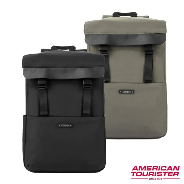 【AT美國旅行者】Rubio上開拉鍊隔層筆電後背包14 多色可選(HL4)