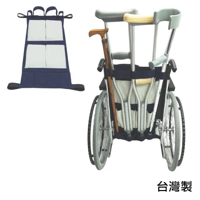 【感恩使者】輪椅用後背袋/拐杖袋 ZHTW1787(台灣製)