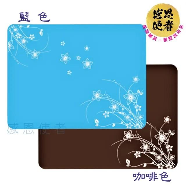 【感恩使者】多用途矽膠餐桌墊 - 1個入 防水 止滑 隔熱 ZHCN2029(無毒安全 耐高溫 好清洗 方便攜帶)