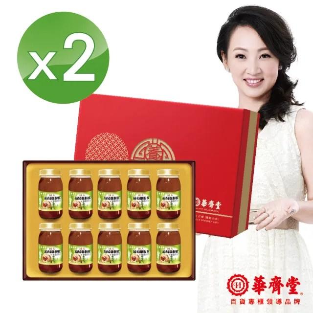 【華齊堂】成人葡萄糖胺飲+龜鹿四珍禮盒2盒(60ml/10入/盒)