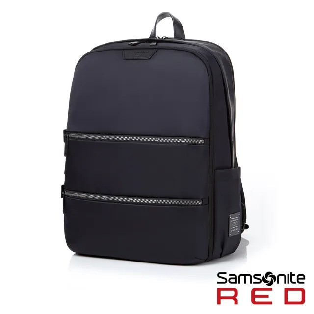 【Samsonite RED】EVERETE 輕量女用防潑水筆電後背包15吋 深藍(DN5)