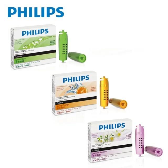 【Philips 飛利浦】HEPA 第二代空氣清淨機 香氛瓶 3入組(公司貨)