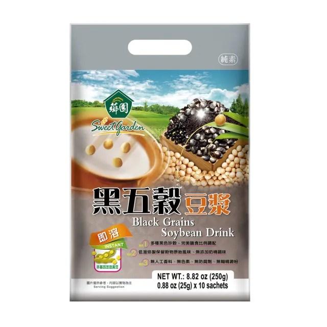 【薌園】黑五穀豆漿(25g x 12入/袋)