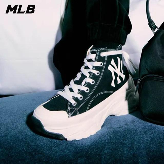 【MLB】高筒老爹鞋 Chunky High系列 紐約洋基隊(32SHU1111-50L)