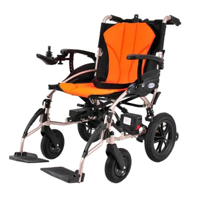 【Suniwin】尚耘國際出國代步/折疊攜帶抽取式雙鋰電池/超輕電動輪椅W630/可上飛機