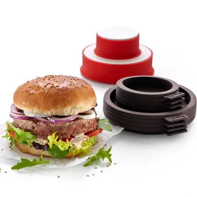 【LEKUE】漢堡肉製造器+麵包模