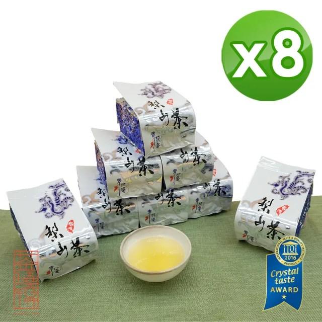【茶曉得】梨山特等午時嫩摘烏龍茶葉150gx8包(2斤)