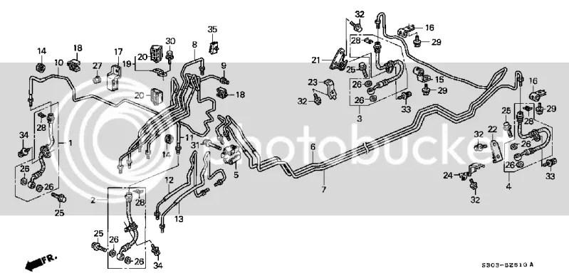Honda Clutch Master Cylinder Reservoir Diagram