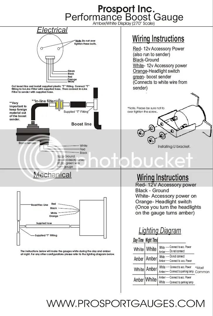 Stupendous Prosport Oil Pressure Gauge Wiring Diagram Online Wiring Diagram Wiring 101 Akebwellnesstrialsorg