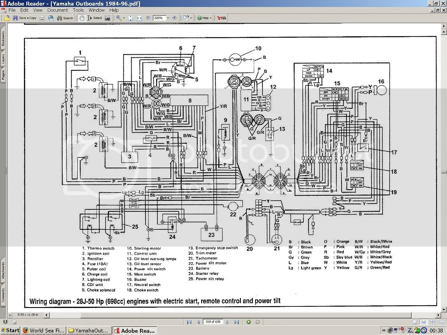 Wiring Diagram Manual For Yamaha 703 Control