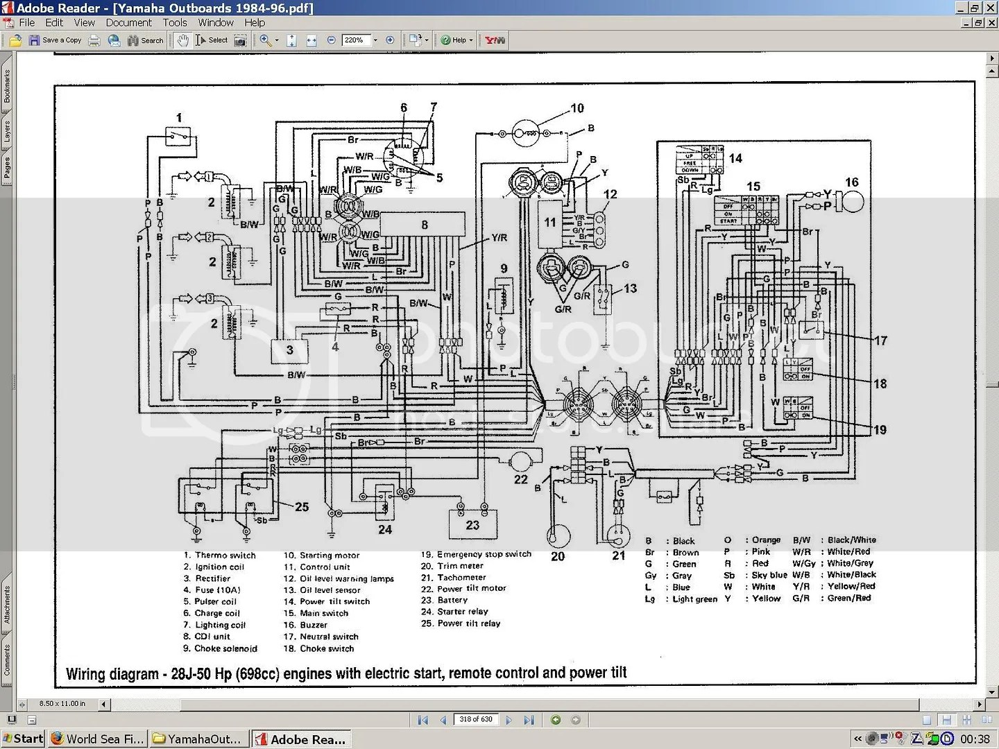 yamaha 703 remote control wiring diagram wind turbines manual for ribnet forums