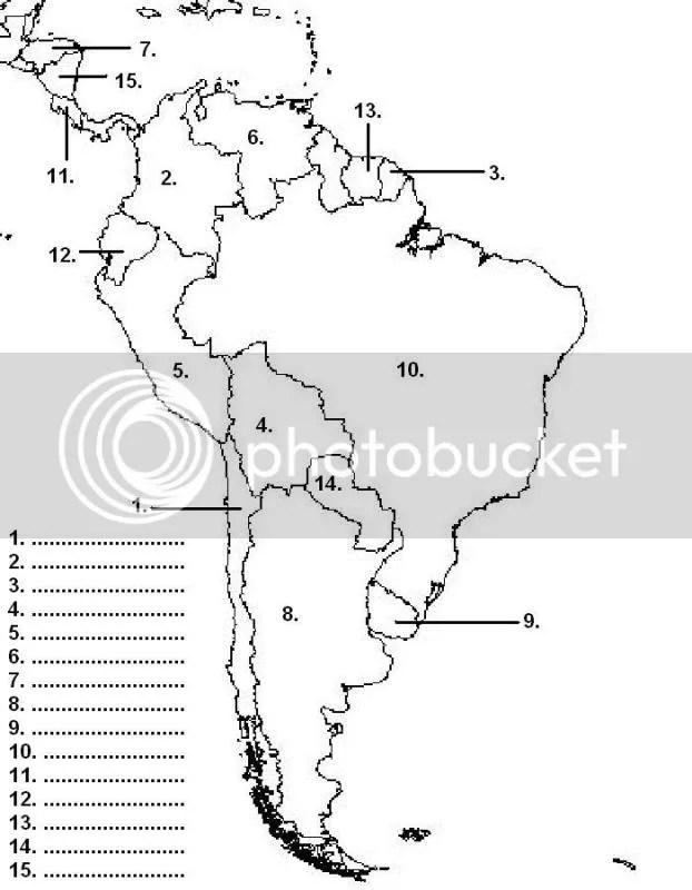 america: south america map quiz