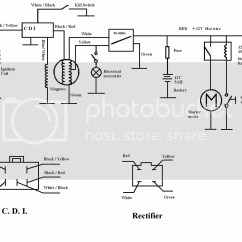 Motorcycle Stator Wiring Diagram Ford Fiesta Mk6 Stereo Honda Xr 80 Electricity Site Library