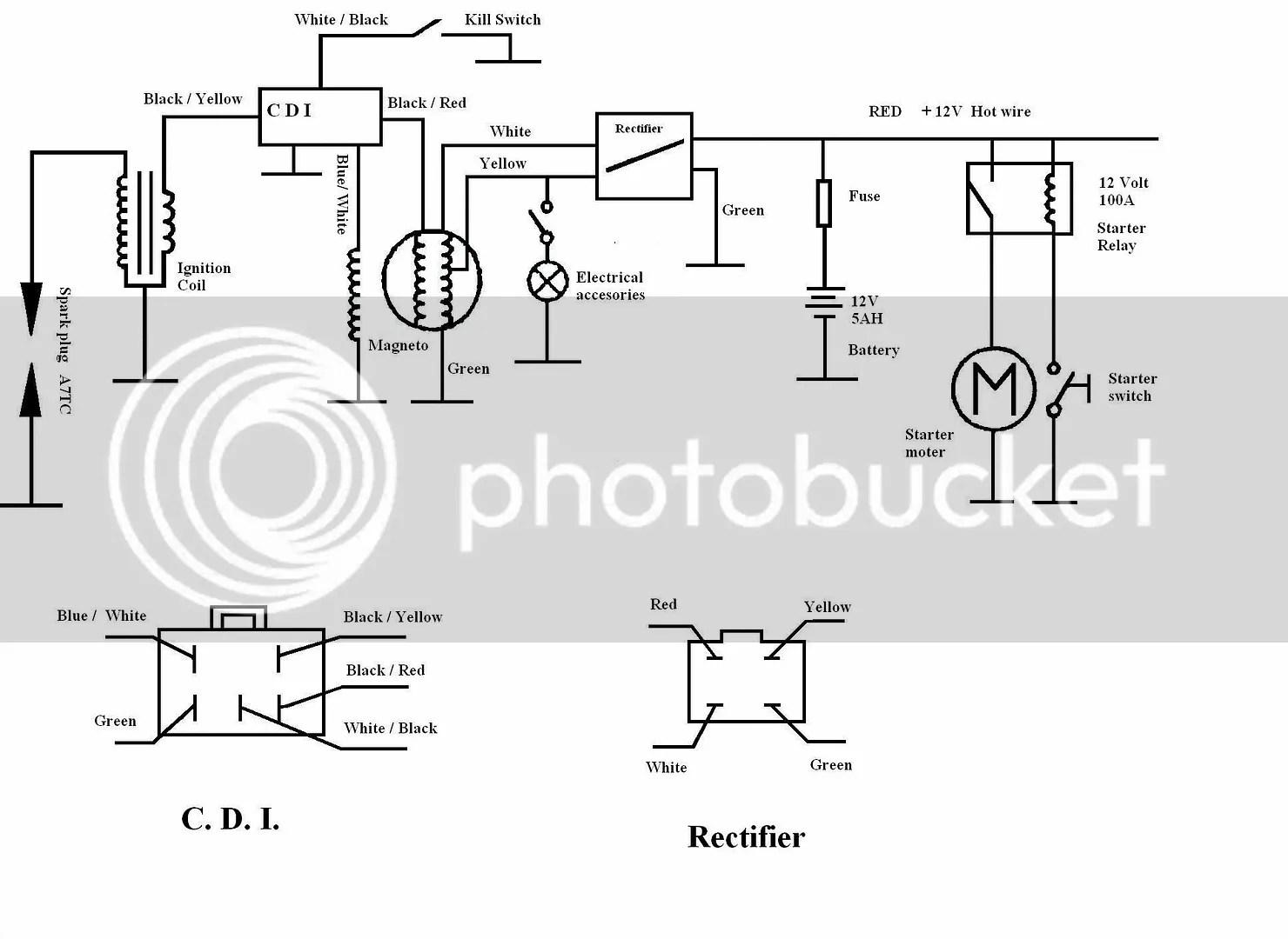 ata 110 wiring diagram 2000 ford expedition 07 atv voltage regulator