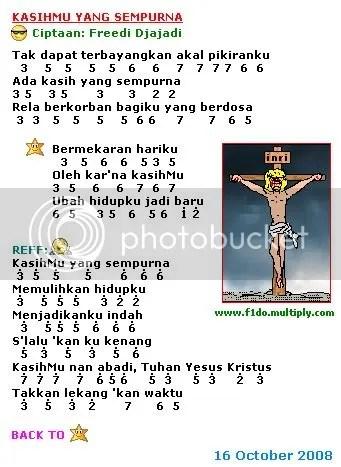 Lirik Lagu Yesus Kristus Tuhan : lirik, yesus, kristus, tuhan, KasihMu, Sempurna, F1dod1do