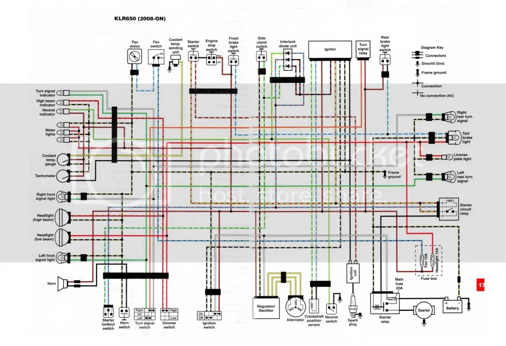 2011 Or 2012 Wiring Diagram Klr 650