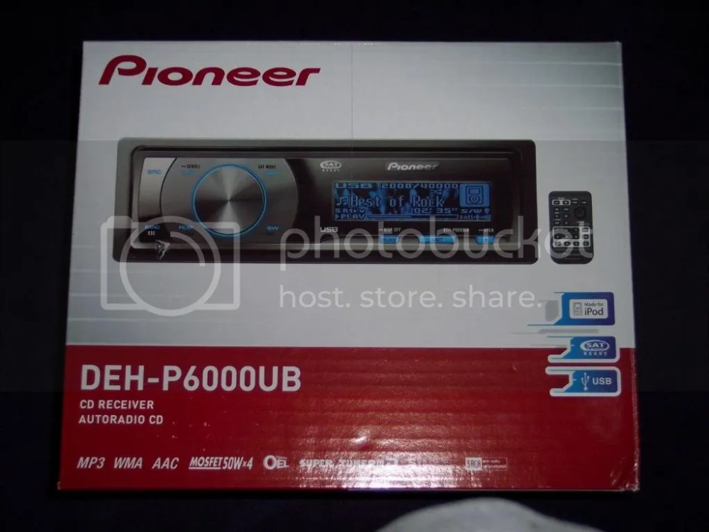 medium resolution of pioneer deh p6000ub youtube