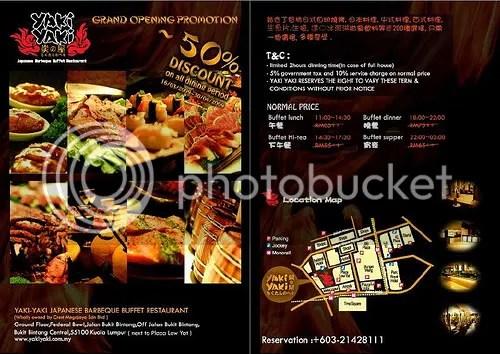 Yaki Yaki Japanese BBQ Buffet Restaurant Kuala Lumpur