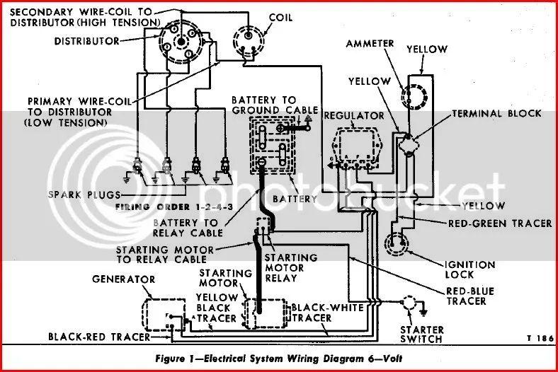 tractor wiring diagram also farmall 12 volt wiring diagram wiring